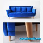 Sofa Retro minimalis blue