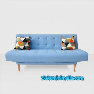 Sofa blue scandinavian