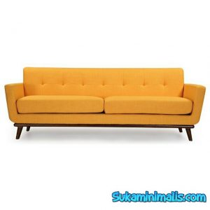 Sofa retro yellow