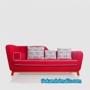 Sofa minimalis red dragon